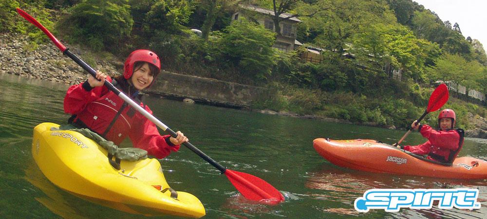長良川カヤック体験