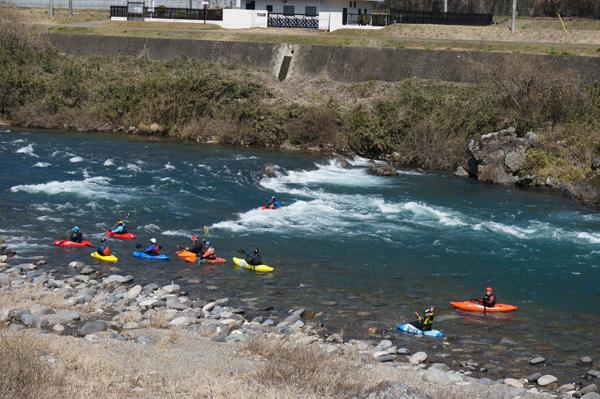2014年3月長良川